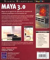 Sg Couleurs Maye 3 - 4ème de couverture - Format classique