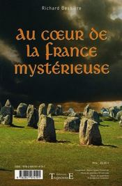 Au coeur de la France mystérieuse - 4ème de couverture - Format classique