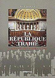 Republique Trahie - Couverture - Format classique