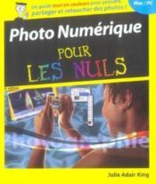 Photo Numerique Pour Les Nuls - Couverture - Format classique