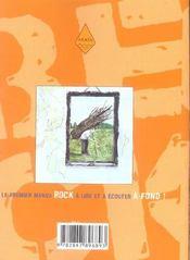 Beck t.4 - 4ème de couverture - Format classique