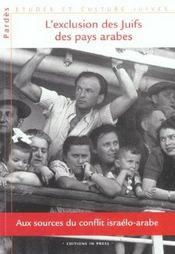 L'Exclusion Des Juifs Des Pays Arabes - Intérieur - Format classique