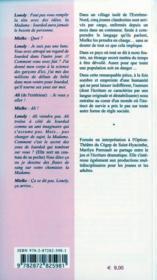 Roche, Papier, Couteau - 4ème de couverture - Format classique