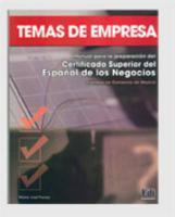 Temas De Empresa Libro Del Alumno - Couverture - Format classique