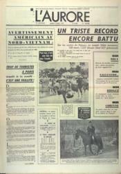 Aurore (L') N°8582 du 04/04/1972 - Couverture - Format classique
