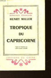 Tropique Du Capricorne - Couverture - Format classique