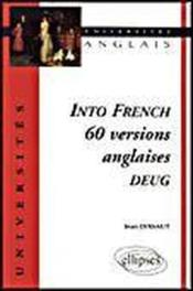Into French 60 Versions Anglaises Deug - Couverture - Format classique