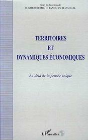 Territoires Et Dynamiques Economiques - Intérieur - Format classique