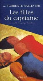 Les Filles Du Capitaine - Couverture - Format classique