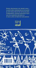 Anthologie de la poesie arabe contemporaine - 4ème de couverture - Format classique