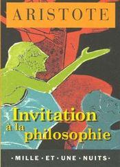 Invitation A La Philosophie - Intérieur - Format classique