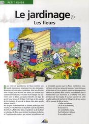 Le jardinage t.3 ; les fleurs - Intérieur - Format classique