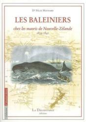 Les Baleiniers, Journal Du Docteur Maynard - Couverture - Format classique