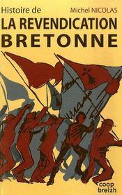 Histoire de la revendication bretonne - Intérieur - Format classique