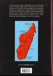 Madagascar t.3 - 4ème de couverture - Format classique