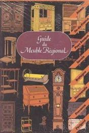 Guide du meuble regional - Couverture - Format classique