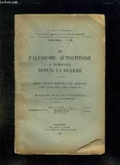 Faculte De Medecine Et De Pharmacie N° 22 1922 - 1923. Le Paludisme Autochtone A Bordeaux Depuis La Huerre. - Couverture - Format classique