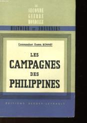 Les Campagnes Des Philippines Et Leurs Enseignements - Couverture - Format classique