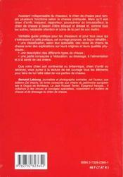 Le Chien De Chasse - 4ème de couverture - Format classique