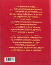 Decors de noel ; la table ; la creche ; le sapin - 4ème de couverture - Format classique