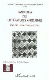 Panorama des littératures africaines ; état des lieux et perspectives - Intérieur - Format classique