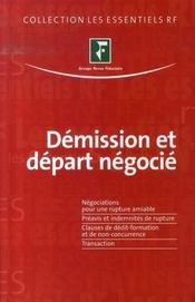 Démission et départ négocié - Intérieur - Format classique