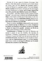 Corsaires et flibustiers - 4ème de couverture - Format classique