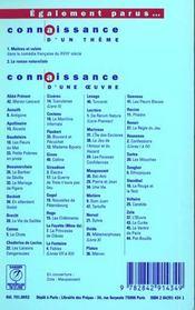 Le roman naturaliste ; Bac 2000 ; 1ère L, ES, S, STT - 4ème de couverture - Format classique