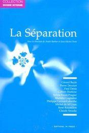 La separation - Intérieur - Format classique