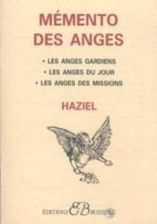 Memento des anges - Couverture - Format classique