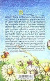 Chanson-bricole - 4ème de couverture - Format classique