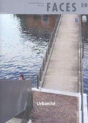 Faces N.59 ; Urbanite - Intérieur - Format classique