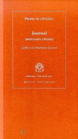 Journal Morceaux Choisis - Couverture - Format classique