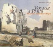 Voyage à paris de thomas s. boys - Couverture - Format classique