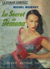 Le Secret De Demona. Collection : Le Roman Complet. - Couverture - Format classique