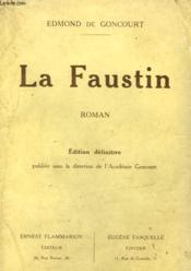 Le Faustin. - Couverture - Format classique