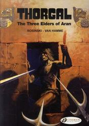Vente livre :  Thorgal T.3 ; The Three Elders Of Aran  - Grzegorz Rosinski - Jean Van Hamme
