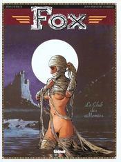 Fox t.5 ; le club des momies - Intérieur - Format classique