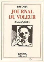 Journal du voleur - Couverture - Format classique