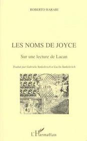 Les noms de Joyce sur une lecture de Lacan - Intérieur - Format classique