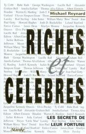Les Gens Riches Et Celebres ; Les Secrets De Leur Argent - Intérieur - Format classique