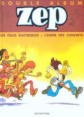 Les filles electriques ; l'enfer des concerts - Intérieur - Format classique