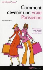 Comment devenir une vraie parisienne (édition 2008) - Intérieur - Format classique