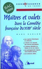 Maîtres et valets - Intérieur - Format classique