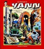 Yann le vaillant t.2 ; le secret de la dalle brisée - Couverture - Format classique