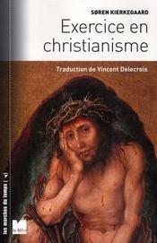 Exercice en christianisme - Intérieur - Format classique