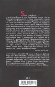 Espoir hesite...(l') - 4ème de couverture - Format classique