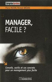 Manager, facile ? - Intérieur - Format classique