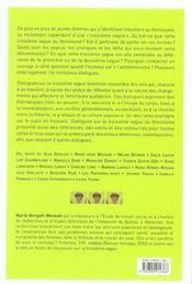 Dialogues Sur La Troisieme Vague Feministe - 4ème de couverture - Format classique