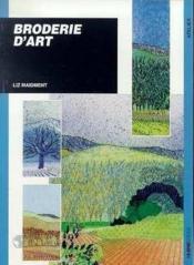 Broderie D'Art - Couverture - Format classique